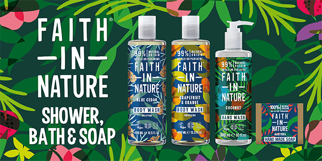 Faith in Nature banner