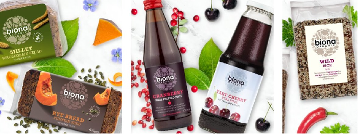 Biona Organic Banner