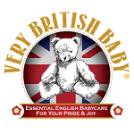 Very British Baby Logo Image