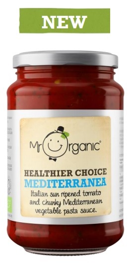 Mr Organic Healthier Choice Maditerranea