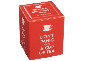 New English Tea Don't Panic Have A Cup Of Tea
